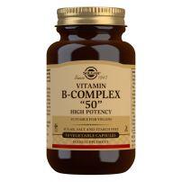 Solgar b complex 50 high potency caps a100