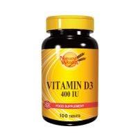 Natural Wealth Vitamin D 400 IJ 100 tableta