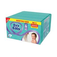Evy Baby pelene Box 4 maxi 8-18kg 96kom Novo