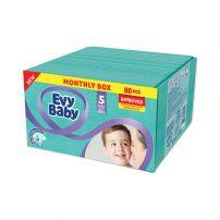 Evy Baby pelene Box 5 Junior 12-25kg 80kom Novo
