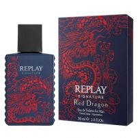 Replay Signature Red Dragon Man Edt 30ml