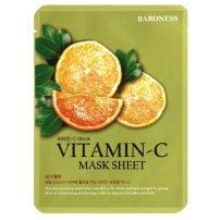 Baroness vitamin C sheetmaska za lice 21g