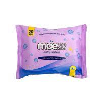 Moe28 intimne vlažne maramice 20 kom