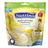 Nutrino mlečna kaša pirinač, kukuruz, banana 6+ 200g