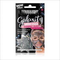 Eveline galaxity glitter black maska za lice 10ml