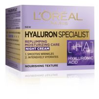 L'Oreal Paris Hyaluron Specialist noćna hidratantna krema za vraćanje volumena 50 ml