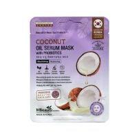 MBeauty sheet maska za lice sa serumom kokosovog ulja 22ml