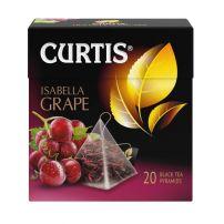 Curtis Isabella Grape - Crni čaj sa komadićima crnog grožđa, laticama ruže i malve, 36 gr