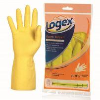 Logex gumene rukavice, sa pamučnom postavom, veličina L