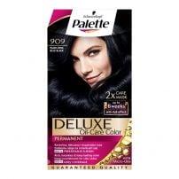 Palette Delux boja za kosu 909 Plavičasto crna