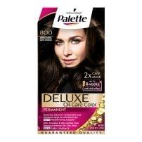 Palette Delux boja za kosu 800 Tamno smeđa
