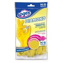 Logex gumene rukavice, sa pamučnom postavom, veličina M