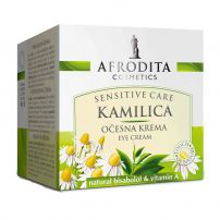 Afrodita Kamilica Sensitive krema protiv boroa oko očiju 15 ml