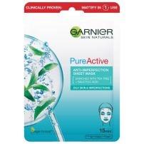 Garnier Skin Naturals Pure Active maska u maramici protiv nepravilnosti 28g