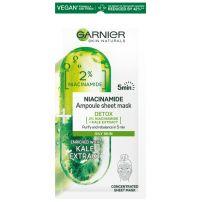 Garnier Skin Naturals maska u maramici sa sadržajem ampule niacinamid za masnu kožu 15g