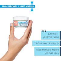 Mixa Hyalurogel Light krema za lice 50ml