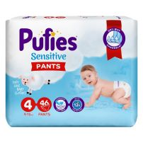 Pufies sensitive pants 4 Maxi 46kom