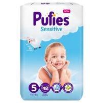 Pufies Sensitive MP 5 Junior pelene za bebe 48kom