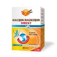 Natural Wealth Kalcijum, magnezijum i vitamin D direkt 20 kesica