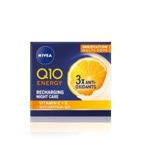 NIVEA Q10 ENERGY Recharging noćna krema 50ml