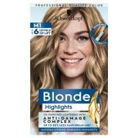 Bllonde M1 plavi pramenovi farba za kosu