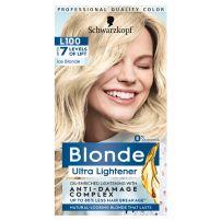 Blonde L100 posvjetljivač ledeno plava farba za kosu