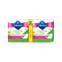 Libresse Natural Care Normal Duo higijenski ulošci 20 komada