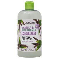 Creightons gel za tuširanje vanila & makadamija 500ml
