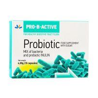 Pro-B-Active Probiotik za odrasle mix of bacteria 10 kapsula