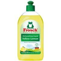 Frosch Eco tečnost za pranje posuđa Yellow lemon 500ml