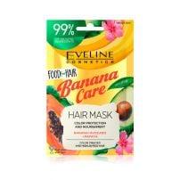 Eveline food for hair banana care maska za kosu 20ml
