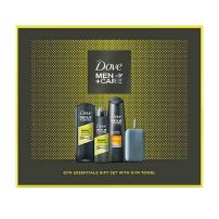 Dove men sports care set(šampon+deo u spreju+gel)