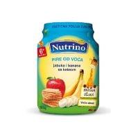 Nutrino pire od voća- jabuka i banana sa keksom 190g
