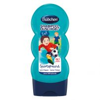 Bubchen Sports fan dečiji šampon za kosu i tuširanje 230ml