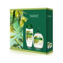 Palmolive naturals olive set (olive tečni sapun 300ml+olive gel za tuširanje 250ml)