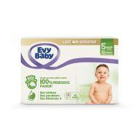 Evy Baby Cotton box 5 junior 72 komada