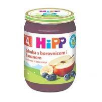 Hipp BIO kašica Jabuka sa borovnicom i bananom 190g