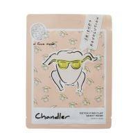 Revolution X Friends Chandler Pink Clay Sheet Mask