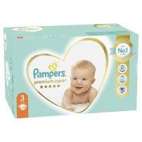 Pampers Premium Pelene za bebe Mega Box 3 Midi 120 komada