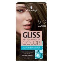 Gliss Color 6-0 prirodna tamno smeđa farba za kosu