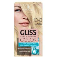 Gliss Color 10-2 prirodna hladna plava farba za kosu