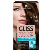 Gliss olor 5-65 kesten smeđa farba za kosu