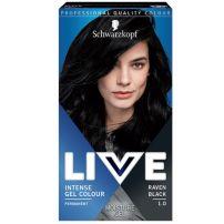 Live color 1.0 crni gavran farba za kosu