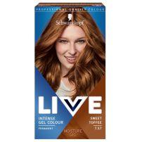 Live color 7.57 slatka karamela farba za kosu