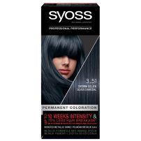 Syoss Color  3-51 Srebrni ugljen farba za kosu