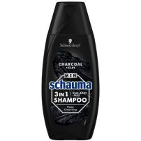 Schauma Men šampon za kosu 3u1 Charcoal & Clay  250ml