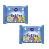 NIVEA BABY Toddies vlažne maramice duo pack 2X60 komada