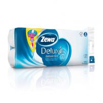 Zewa Deluxe Pure white toalet papir 10 komada