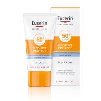 Eucerin Krema za zaštitu osetljive kože od sunca SPF 50+