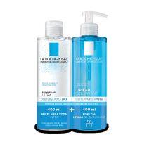 LA ROCHE POSAY Micelarna voda za osetljivu kožu 400ml + Poklon Lipikar gel za tuširnje 400ml